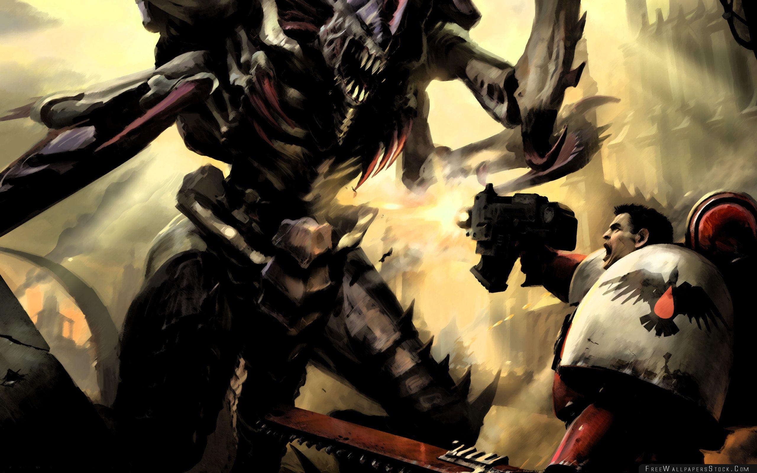 Download Free Wallpaper Warhammer Dawn   War Concept Art