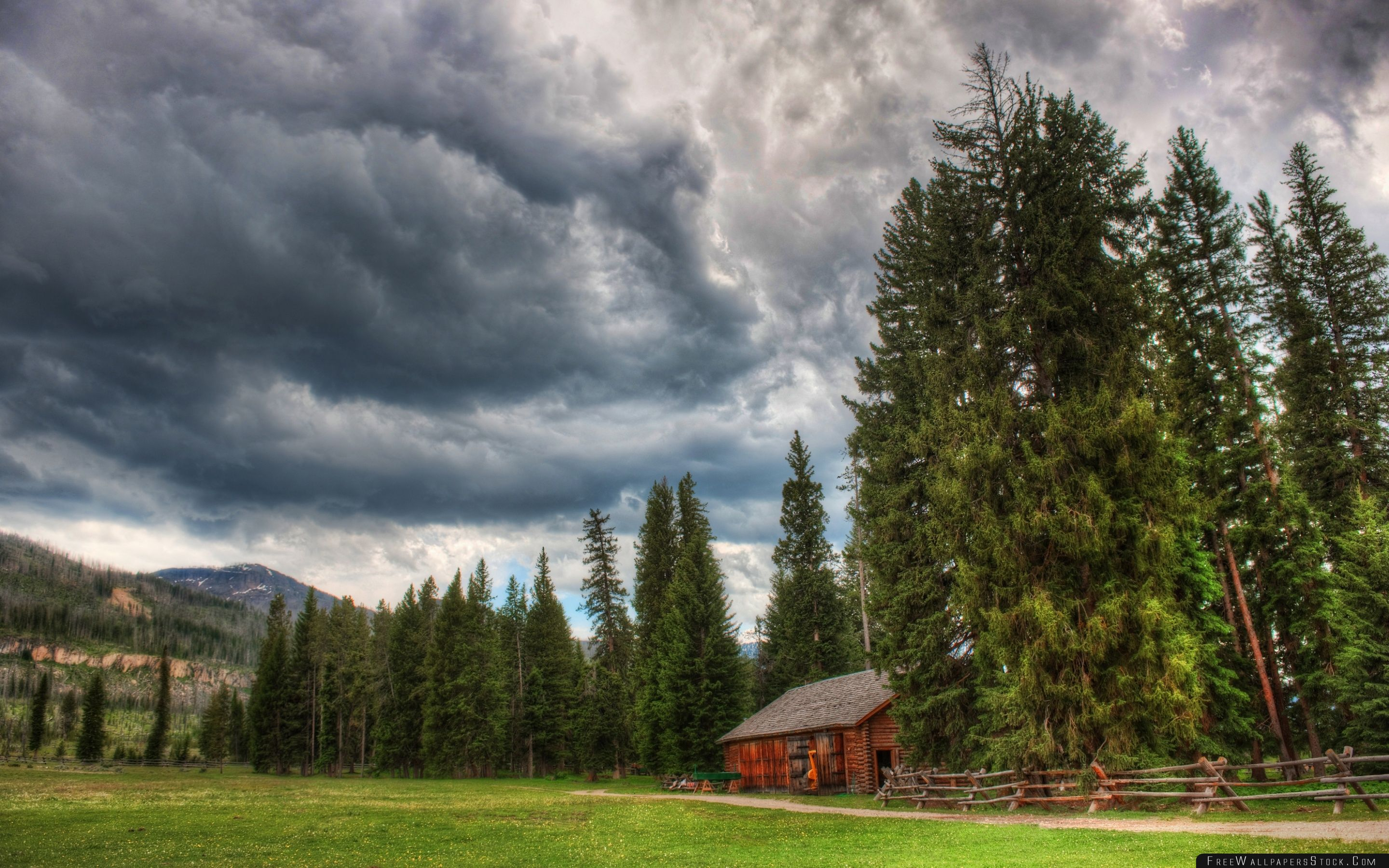 Download Free Wallpaper Yellowstone National Park Landscape