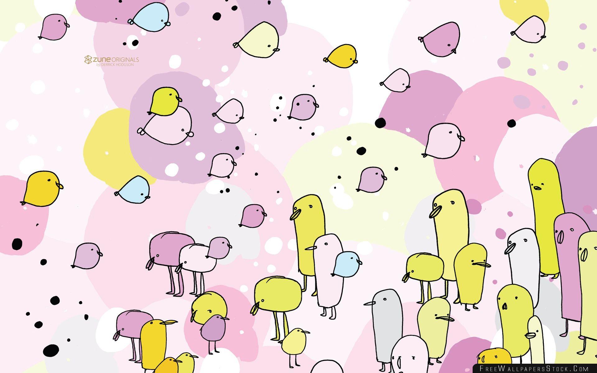 Download Free Wallpaper Zune Birds
