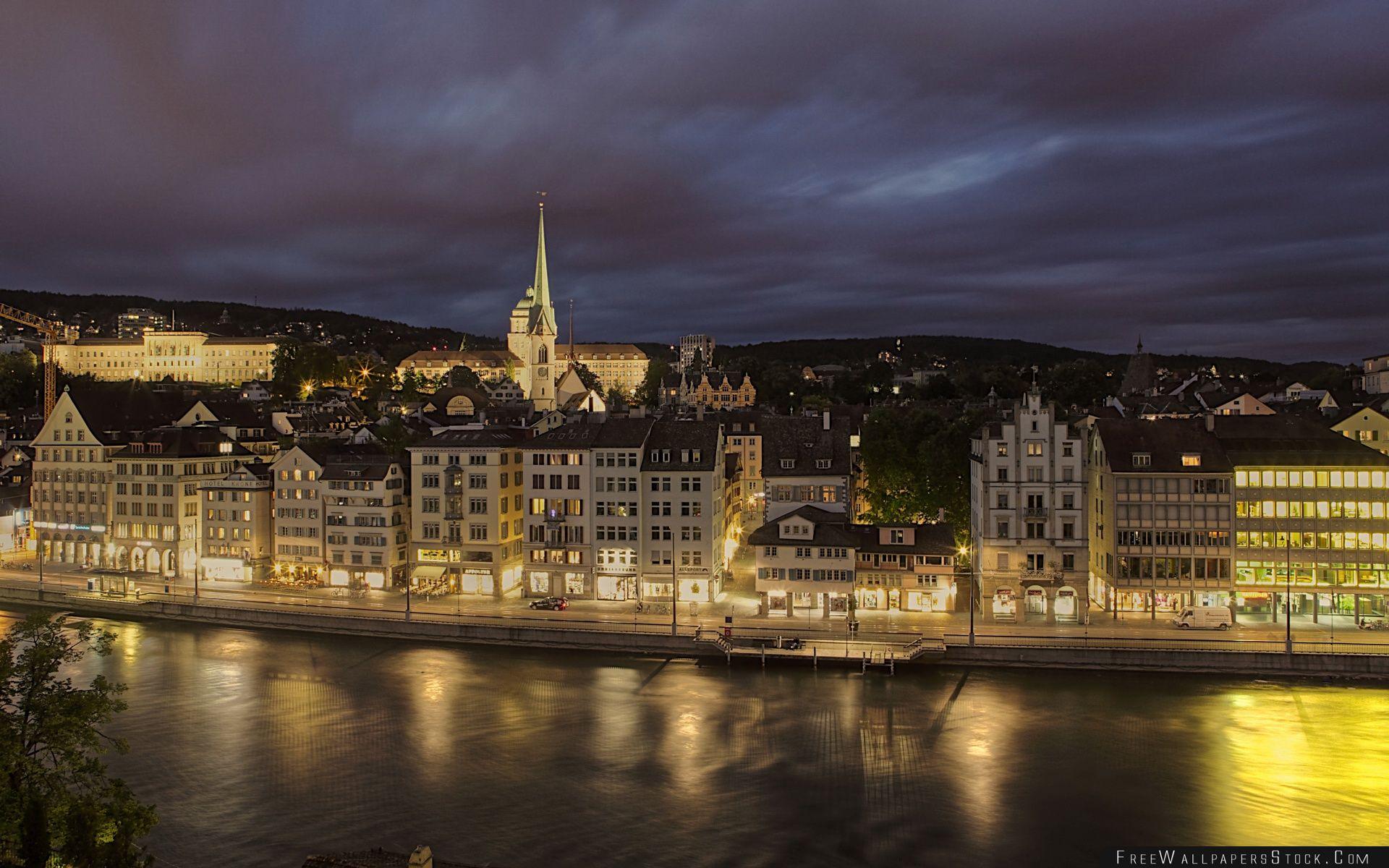 Download Free Wallpaper Zurich Switzerland