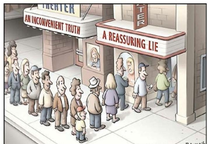 Do you want the real truth or want to believe it is all a food story?