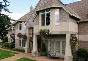 Teaberry paints homes, inside and out.