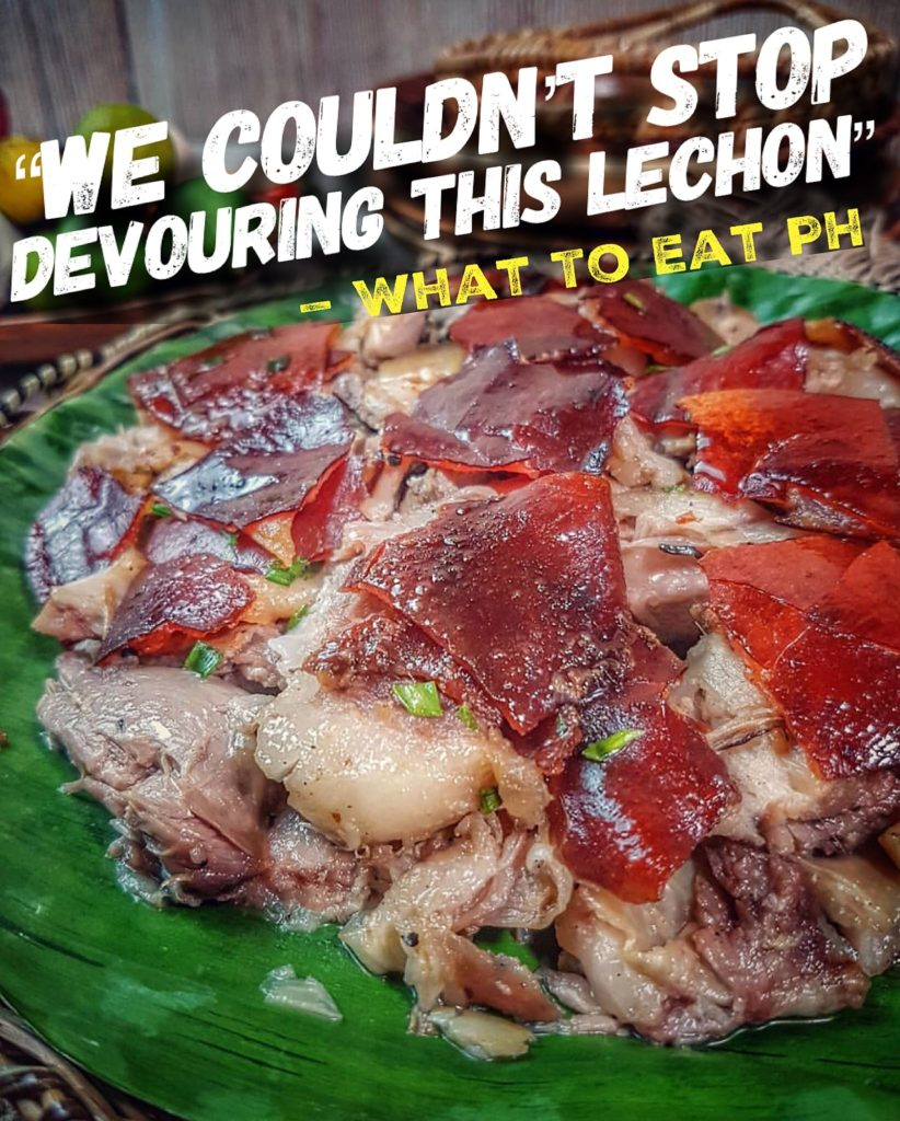 What To Eat PH review of Boarcher Cebu Lechon House