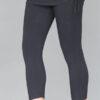 Organic Cotton Yoga Skirted Crop Legging - Black by Blue Lotus Yogawear