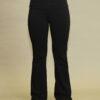 Organic Cotton Fold-over Waistband Yoga Pant - Black by Blue Lotus Yogawear