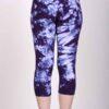 Organic-Cotton-Crop-Yoga-Legging-Deep-Purple-Crystal-Dye-Back-View-by-Blue-Lotus-Yogawear