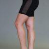 Organic Cotton Mesh Inset Short - Black by Blue Lotus Yogawear