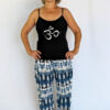 Print Harem Pant with Organic Cotton Waistband Outfit by Blue Lotus Yogawear