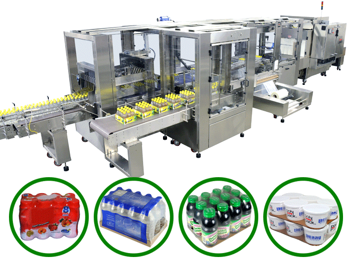 Versatile shrink bundler for both clear and printed film applications