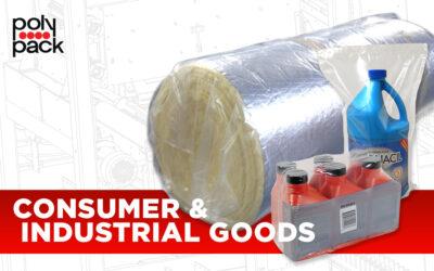 Emballage de Biens de Consommation et de Produits Industriels pour la Fin de Ligne