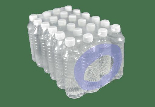 STRONGHOLD™ lunule renforcée pour remplacer la poignée sur un pack de bouteilles d'eau