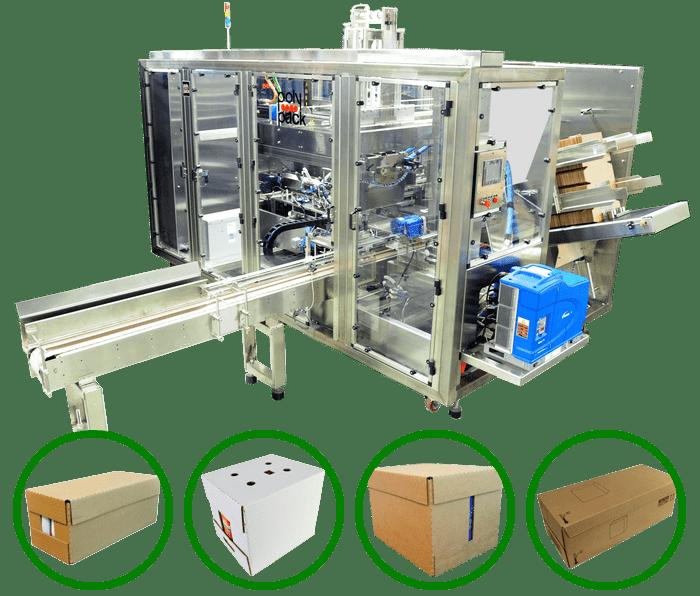 Wraparound packaging machine