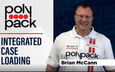 Pick & Place Shrink Bundler with Integrated Case Packing