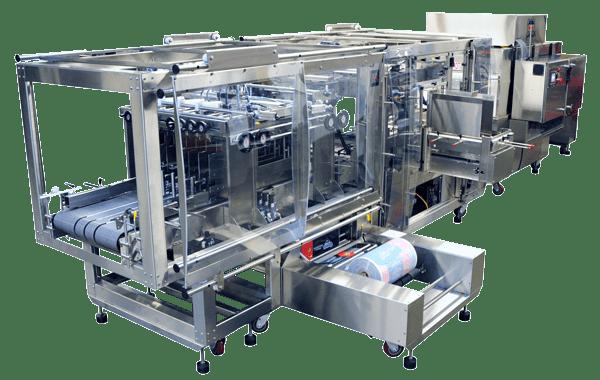 machine économique pour l'emballage sous film imprimé