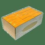 JacketPack empaque con película plástica y cartón