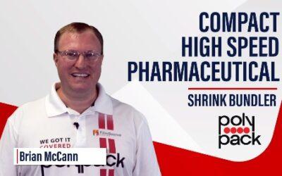 Fardeleuse compacte à haute cadence pour produits pharmaceutiques