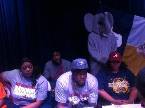 Elephant at Signing Day