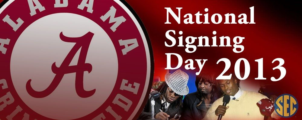 National Signing Day – Official new Tiders and other signing day news (updated 6:55pm)