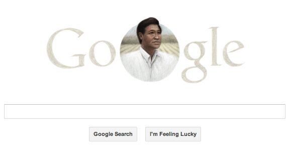 Really Google? Easter Sunday, and you choose to commemorate the 86th birthday of Victor Chavez?
