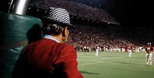 "Alabama football coach Paul ""Bear"" Bryant."