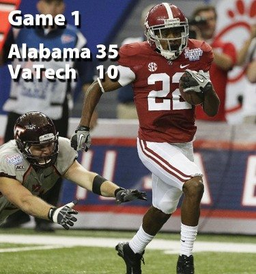 I wish Christion Jones had given future Tide opponents one more thing to have to think about when facing the Tide.