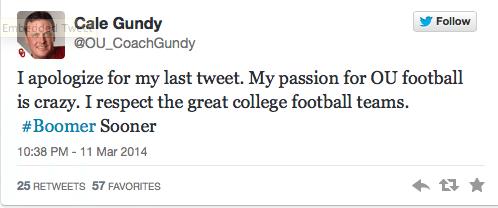 Gundy tweet 2