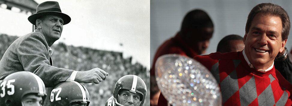 "Alabama Football Greatest Run: ""Bear"" Bryant or Nick Saban?"