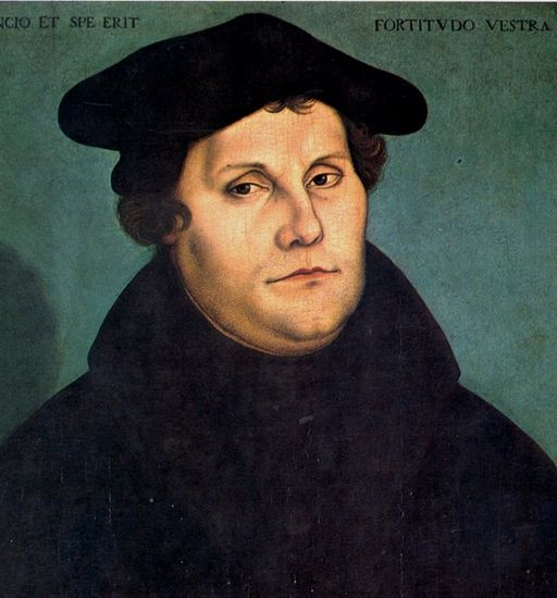 Is Donald Trump today's Martin Luther fighting the new inquisition?