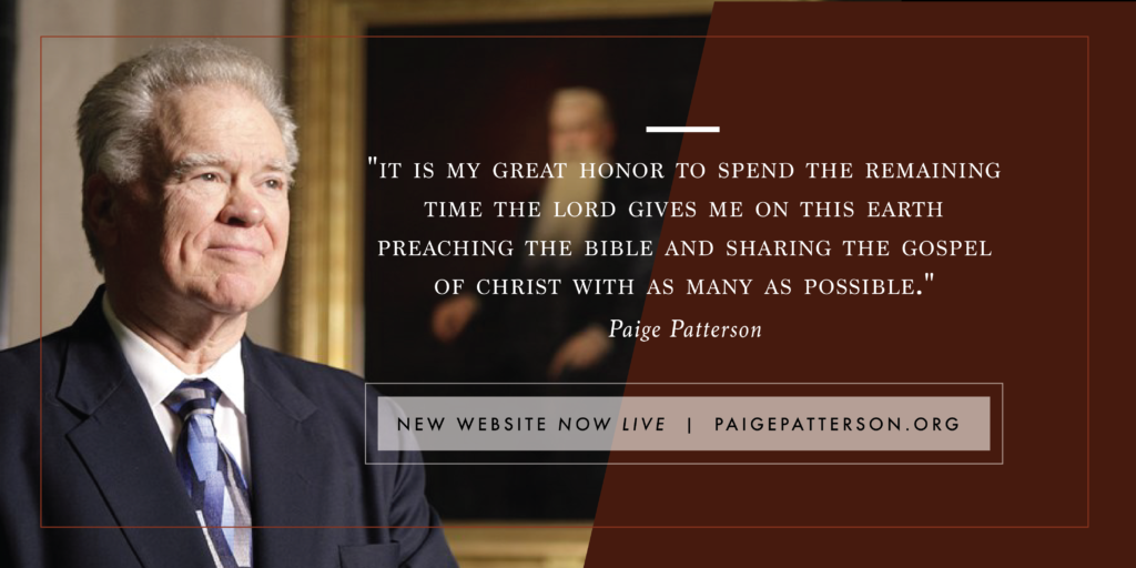 Paige Patterson: Social Justice Movement causing upheaval in Southern Baptist Convention