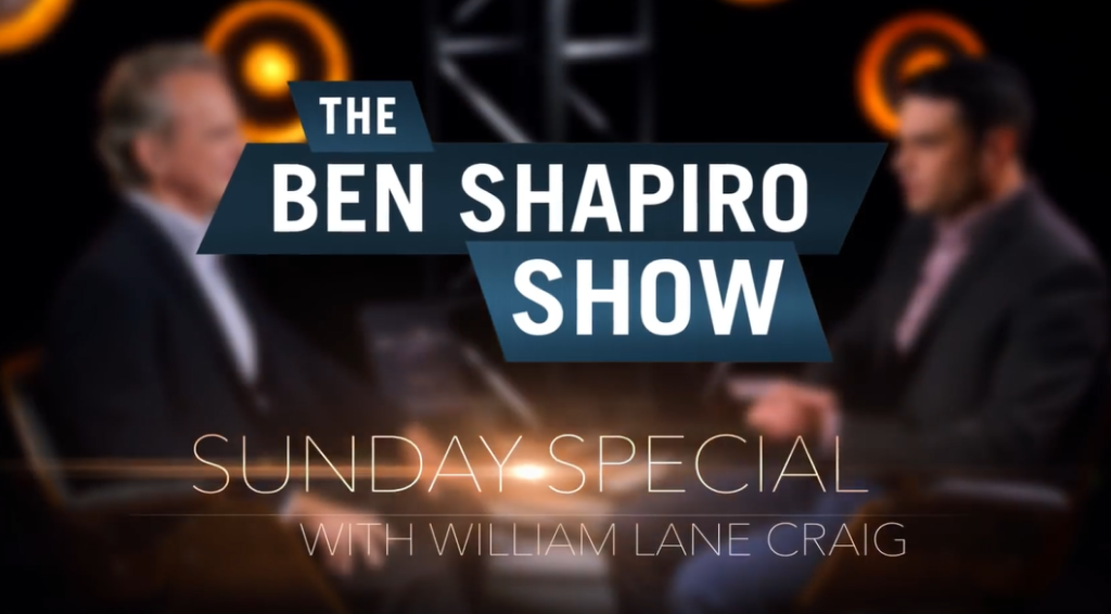 Ben Shapiro and William Lane Craig on secularization of American Politics