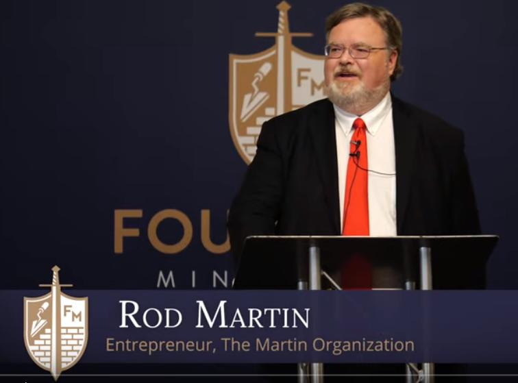 Hillary Clinton voting pastor libels conservative Rod Martin