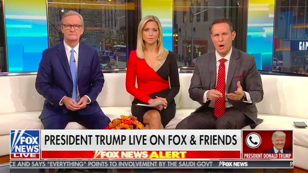 Southern Baptist employee hates Donald Trump and Fox & Friends