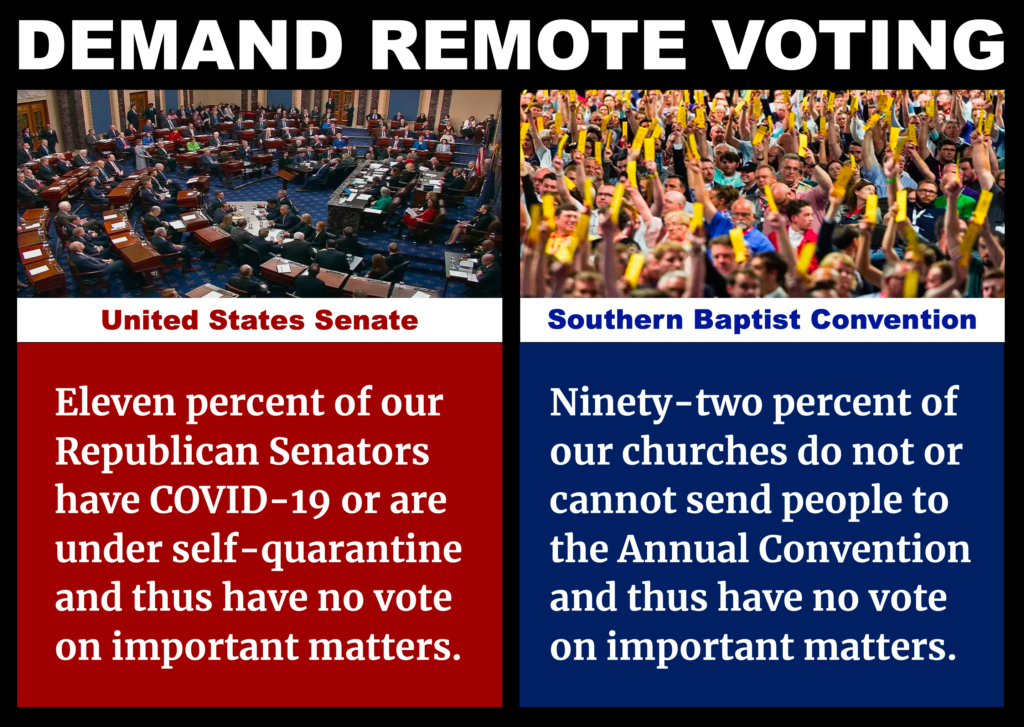 SBC Remote Voting Southern Baptist Annual Meeting Canceled