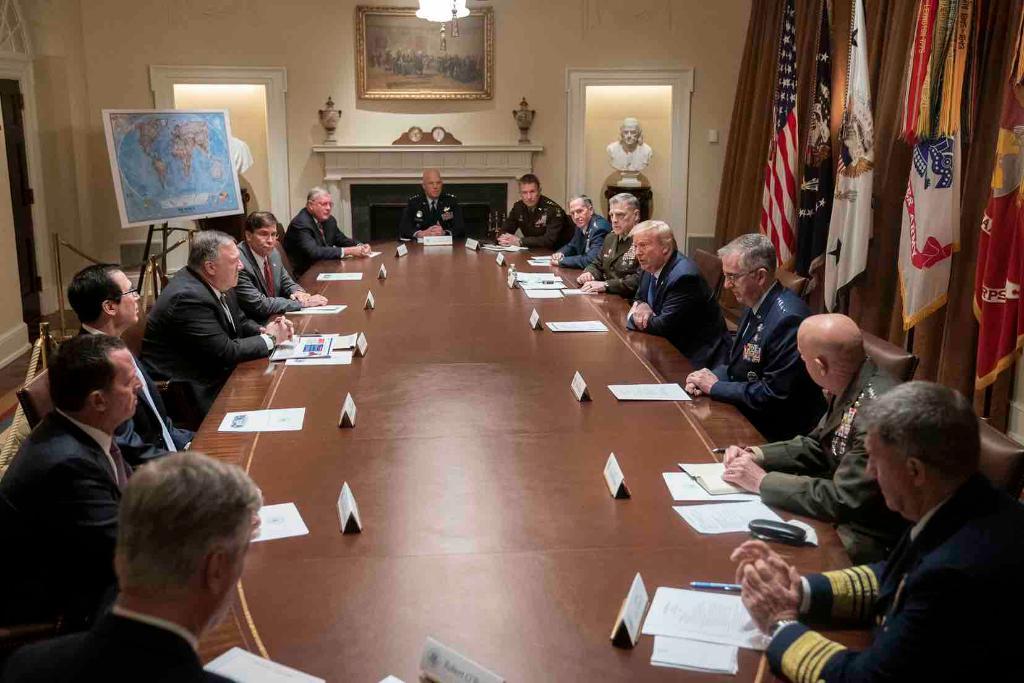 Trump Cabinet meeting