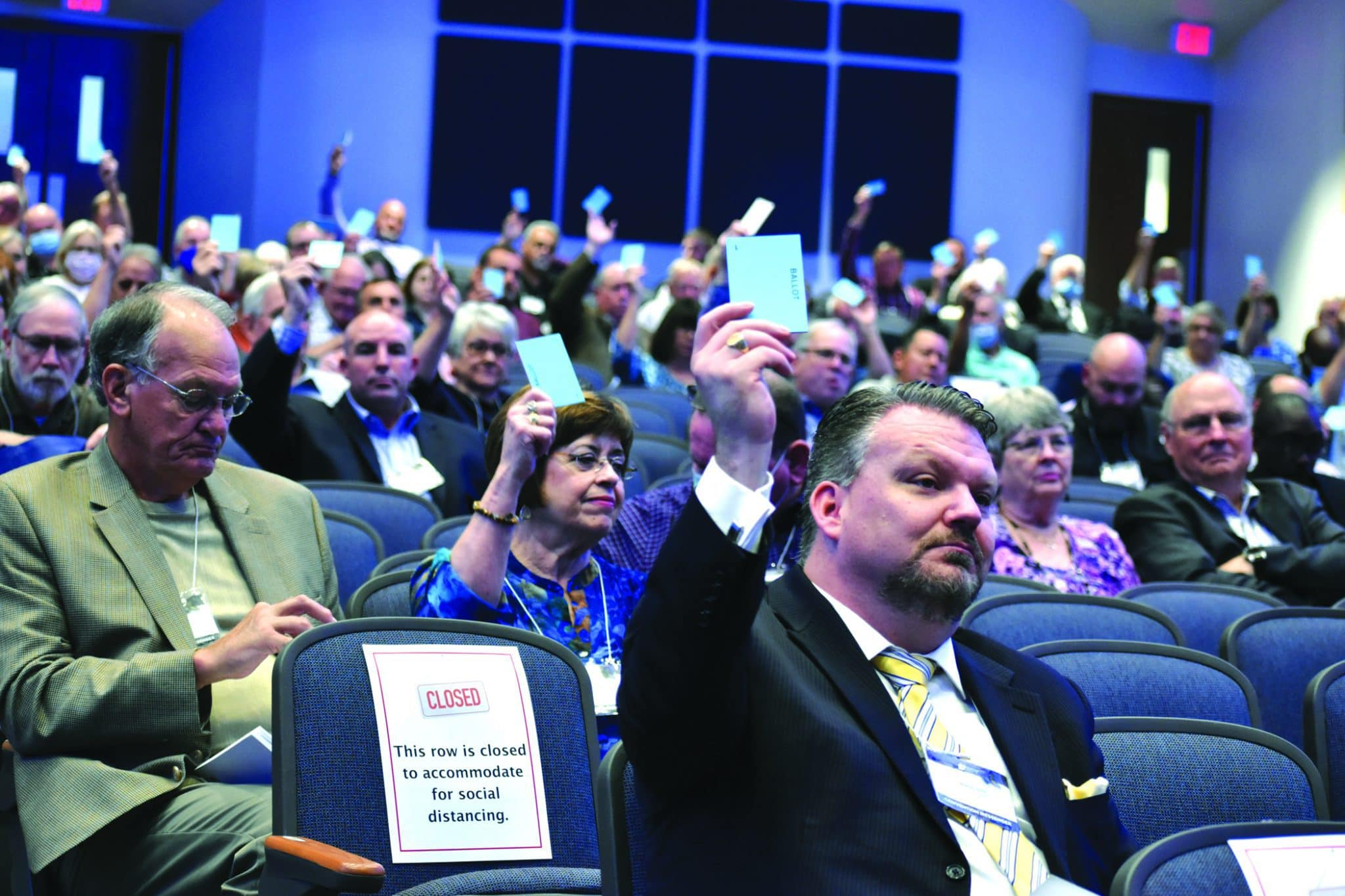 Louisiana Baptists vote