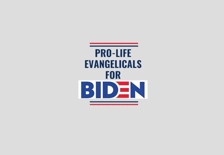 Pro-Life Evangelicals for Biden upset Democrats govern like Democrats