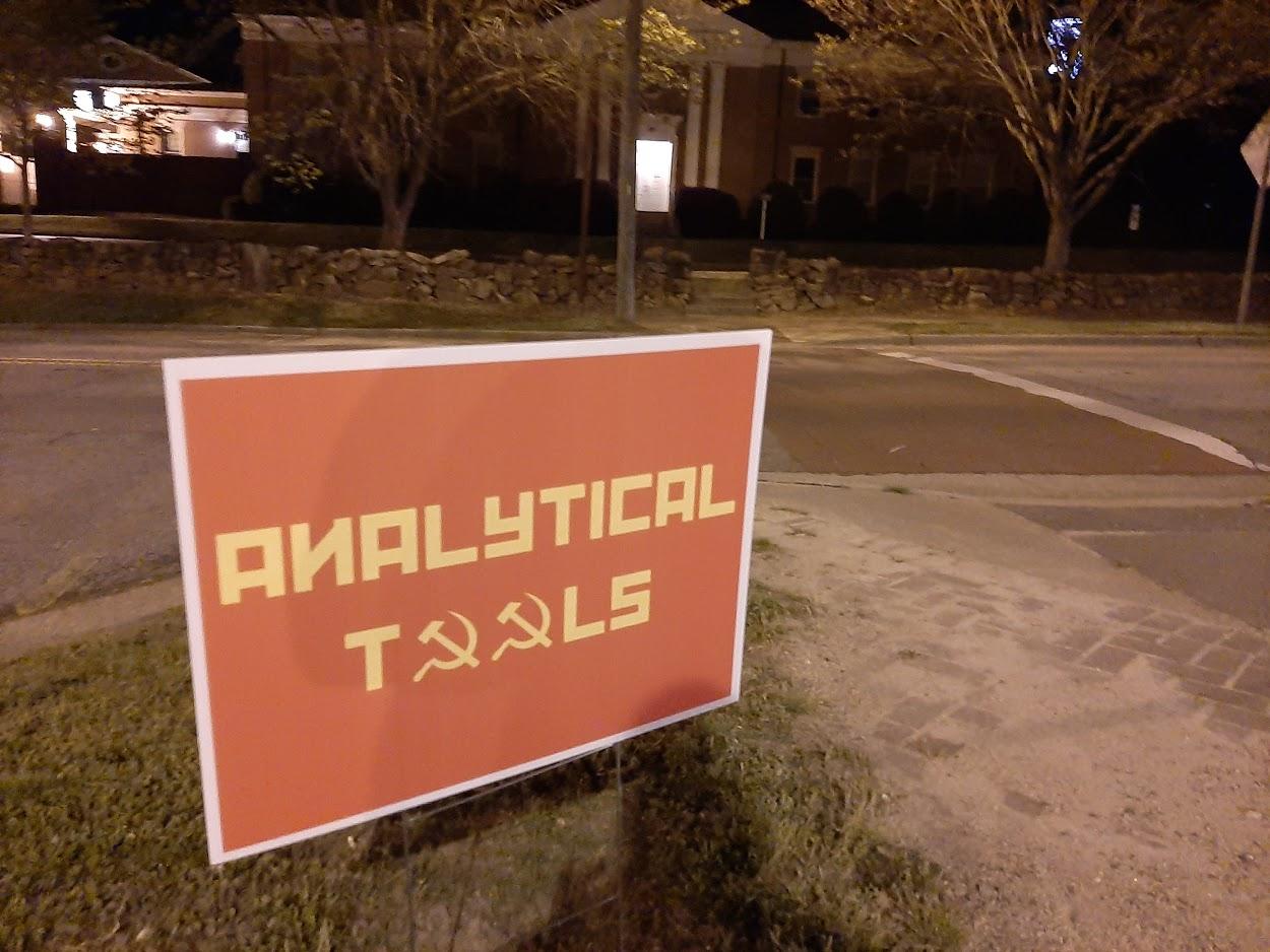 Sign mocking Analytical Tools at SEBTS