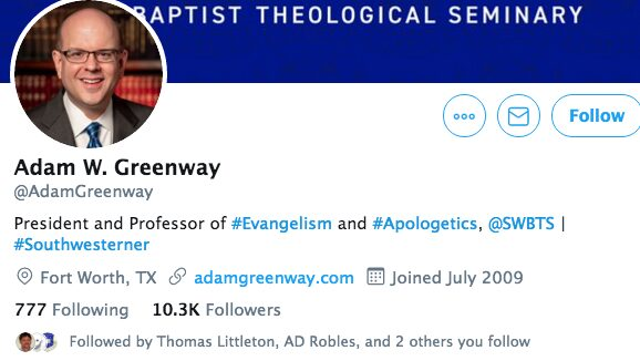 Southwestern Baptist Theological Seminary caught in another lie?