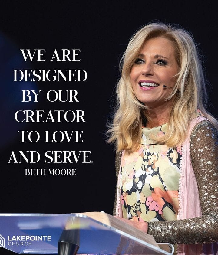 Southern Baptist church hosts Beth Moore preaching on Mother's Day 2021