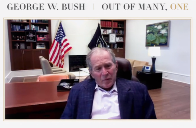 George W. Bush says Evangelical churches are too political, need religious awakening