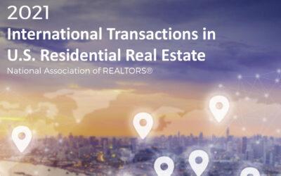 International Transactions: Latest Report