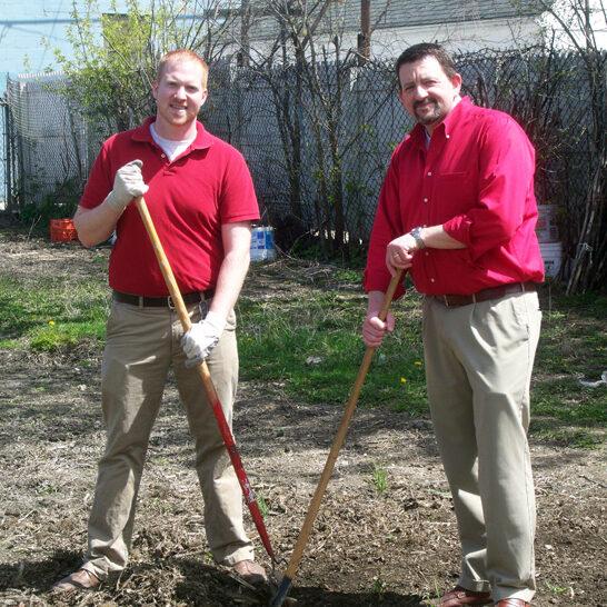 Milwaukee Christian Center Volunteers at work