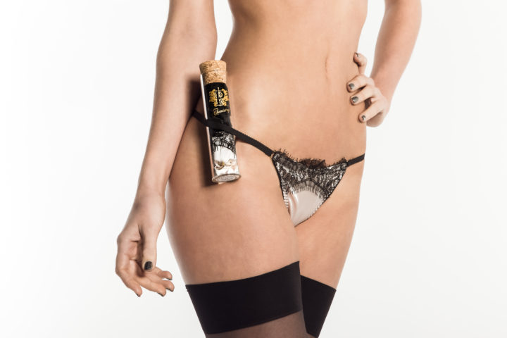 Beautiful lingere gifts, thongs in a tube from Love Laboratory at Pure Chemistry
