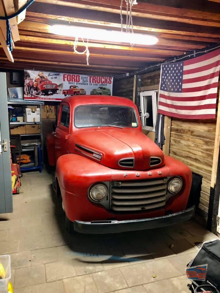 1934 FORD TRUCK BANNER