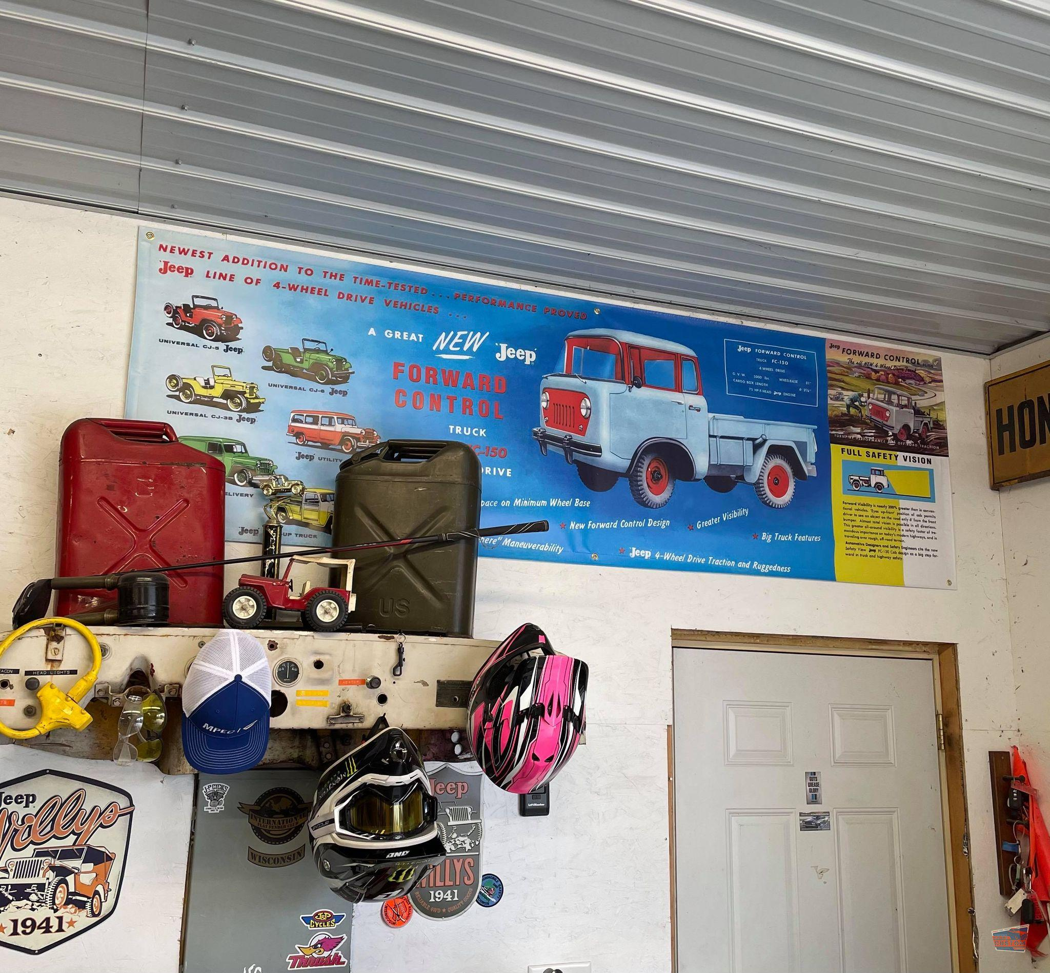 1962 WILLYS JEEP BANNER