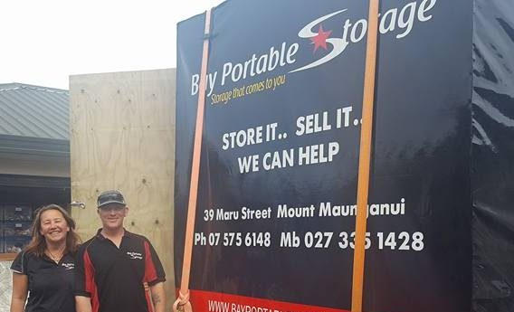 Your team at Bay Portable Storage