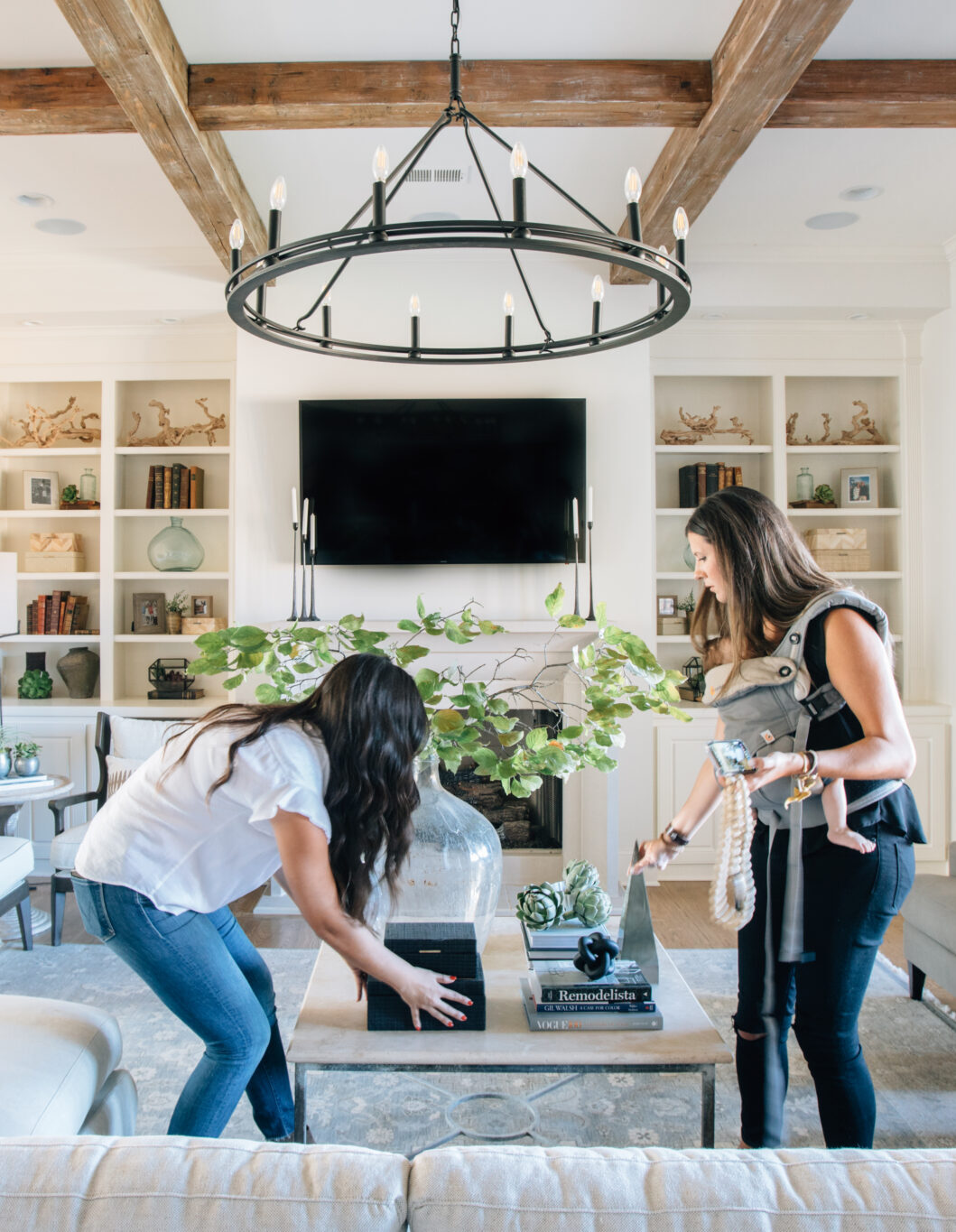 Amy and Katie, Interior Designers at City Hill Design