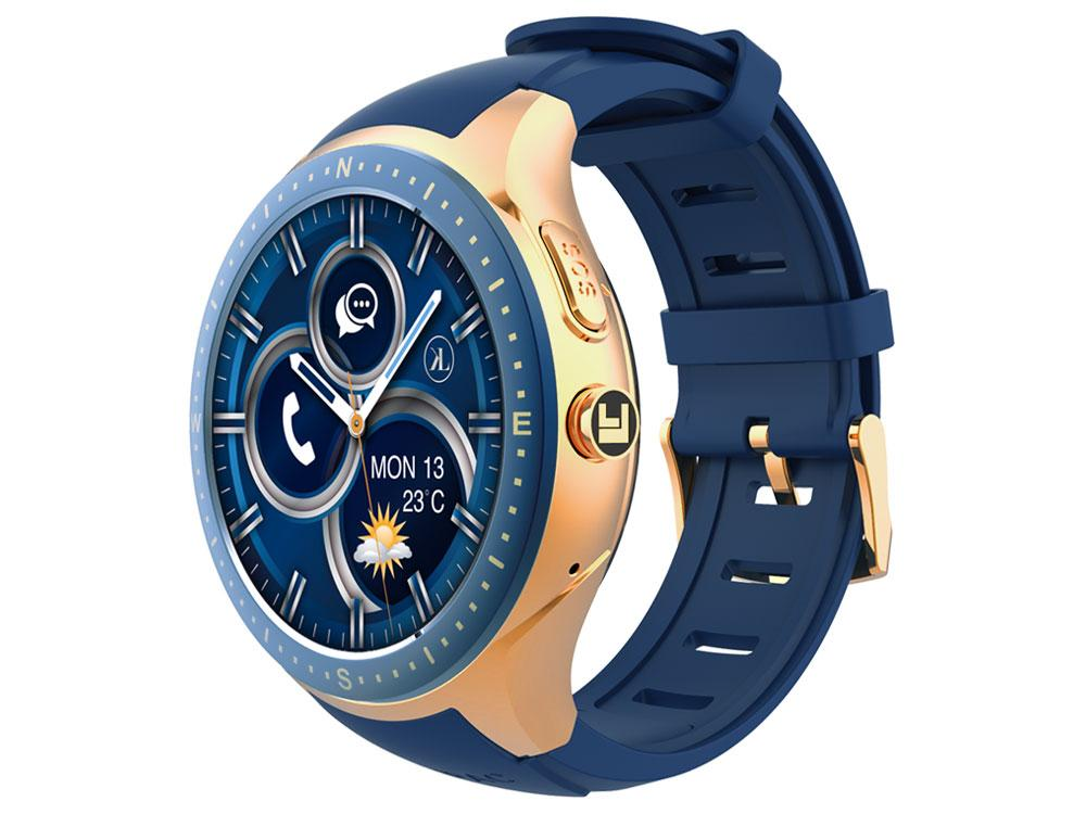 blue-gold LooK Watch side view product image