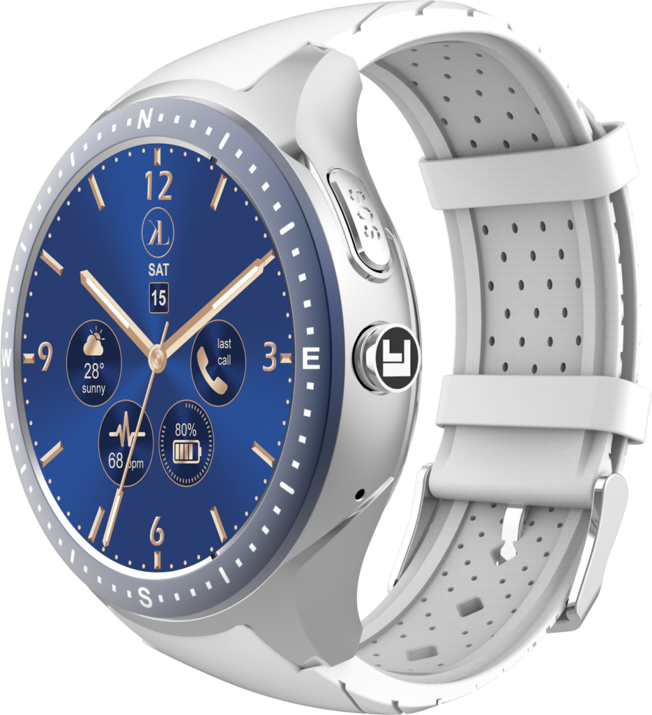 Silver-White LooK Watch product image