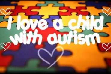 I love a child with autism